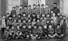 Class photo (theirhistory) Tags: boys kids school class form group teacher coat jacket shorts shoes wellies rubberboots