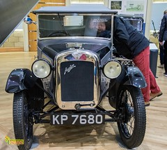 "I told you he's forgot his glasses - 1929 Austin Seven ""Avon"" (two-seater) - British Motor Museum, Gaydon, Warwick. UK (2.2 mil views - Thank you all.) Tags: staneastwood stanleyeastwood car wheel light vintage headlight grill horn davidcrabbe"