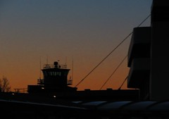 CONTROL TOWER TWILIGHT OCTB DT1 DAP 31-03-2018 (gallftree008) Tags: control tower twilight old central terminal building dt1 dap 31032018 octb airport aer air night nightshot codublin county classic co eire eireann effect historic history ireland irish international landmark lights light silhouette sihouettes abstract sunset sunsets surreal architecture carpark roof roofed cable cables