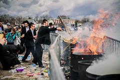 LDS_3189 (Baltimore Jewish Times) Tags: chometz chametz burning passover pesach pimlico baltimore orthodox judaism