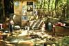 Laundry Day // Waschtag (Zoom58.9) Tags: badehaus waschen menschen haus bäume wasser wäsche asien srilanka bathhouse wash people house trees water laundry asia reinigung cleaning canon eos 50d