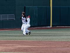 Collision (joeldinda) Tags: michigan greatlakesloons ballpark lansing midwestleague leagues lansinglugnuts baseball omd ballyard em1ii 4071 em1 april omdem1mkii olympus 2018