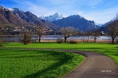 La grande bellezza (stefano.chiarato) Tags: lago lake montagne mountains erba prato primavera springtime sentiero lagodiannone lombardia italy pentaxart pentax pentaxlife pentaxk70