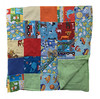Flannel Patchwork Baby Blanket (initial_impressions) Tags: embroidered personalized flannelpatchworkbabyblanket