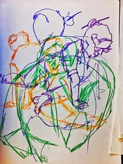 CCAC 4.14.18 warm (Howard TJ) Tags: crayon female lifedrawing