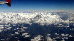 goodby Nepal (S.Garten) Tags: nepal the beauty nature magic momentssun clouds sky heaven deep blue white snow ice glacier infinitely mountains roof world who needs human mystic moments landscapes aasia travel himalaya stone water trekking