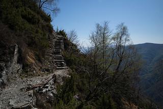Sentiero Monte di Comino . Centovalli Ticino