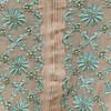 Fine Chikan work on kota Fabric (Adachikan) Tags: kota traditional pearl border