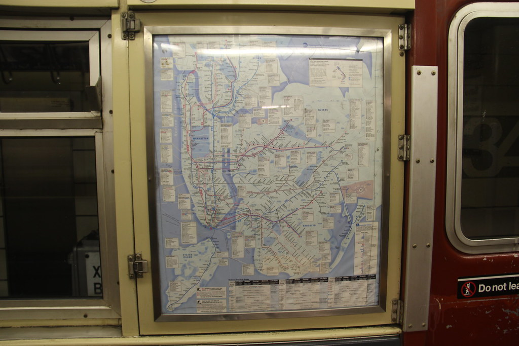 1963 Nyc Subway Map.The World S Best Photos Of R33 And Train Flickr Hive Mind