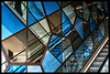 West Quay Patterns (Missy2004) Tags: nikkorafs18140mmf3556gedvr west quay blue escalator manmade patterns 118picturesin2018 29118 studio26 assignment7