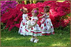 Kindergartenkinder ... (Kindergartenkinder 2018) Tags: gruga grugapark essen azaleen kindergartenkinder annette himstedt dolls annemoni sanrike tivi