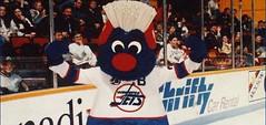 Winnipeg Jets Mascot (vintage.winnipeg) Tags: winnipeg manitoba canada vintage history historic sports