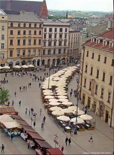Krakau/Polen - Ulica Grodzka