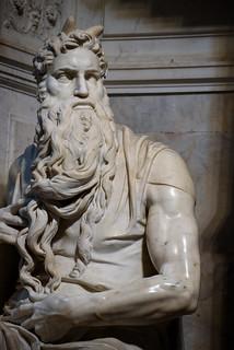 Rome - Rione I Monti - San Pietro in Vincoli - Moses by Michelangelo
