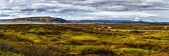 The view from Kerið - Suðurland, Iceland (dejott1708) Tags: view landscape panorama iceland ísland suðurland kerið clouds volcano