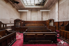 The Crown Courts, England (ObsidianUrbex) Tags: urbex urban exploration abandoned derelict decay europe england courts crown court courtroom jail prison cell cells magistrates