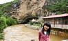 Tiansheng Bridge (neil grandison) Tags: china shangrila yunnan structures estuary friends gill river stream swimming swimmingpool 奇奇 香格里拉