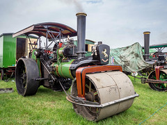 Smallwood 2018 (Ben Matthews1992) Tags: 2018 smallwood steam rally show cheshire england britain british old vintage historic preserved preservation vehicle transport traction engine 1924 aveling porter roller 11024 skippy bf6235