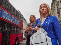 20180413T14-38-40Z-_4136468 (fitzrovialitter) Tags: girl twogirls red bus peterfoster fitzrovialitter rubbish litter dumping flytipping trash garbage urban street environment london streetphotography documentary authenticstreet reportage photojournalism editorial captureone littergram exiftool olympusem1markii mzuiko 1240mmpro city