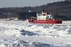 mack41918LH_rb (rburdick27) Tags: ice snow marquette lakesuperior mackinaw coastguard uscg lowerharbor