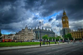 Parliament Square in London, United Kingdom