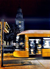 Motion + Art meets the Frankfurter Tor (ANBerlin) Tags: sketchbook infrastruktur infrastructure bewegung motion bewegungsunschärfe motionblur zug train flexity linien lines strasenfotografie streetphotography licht lights stadt city städtisch urban kunst art drausen outdoor ausergewöhnlich extraordinary abstrakt abstract struktur structure gebäude building architektur architecture bvg m10 strasenbahn trolly cablecar tram nächtlich nacht nightly night turm tower haltestelle station deutschland germany berlin warschauerstrase frankfurtertor anb030 shotoniphone iphotography iphonography 8plus iphone8 iphone apple