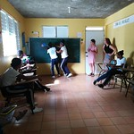Students in the Dominican Republic