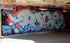 Graffiti Overschie (oerendhard1) Tags: graffiti streetart urban art rotterdam tunneltje underpass overschie pose oerendhard