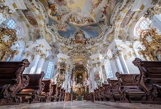 Pilgrimage Church of Wies, Bayern, Germany (Unesco world heritage site)