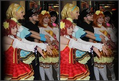 Anime Matsuri, George R. Brown Convention Center, Houston, Texas 2018.03.31 (fossilmike) Tags: houston texas animematsuri cosplay 3d crosseye