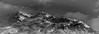 Brume de Cimes (Frédéric Fossard) Tags: mountain landscape sky nuages cloud brume neige snow snowcapped snowcovered alpes savoie vanoise cimes crêtes arêtes mountainside lumière shadow pistedeski skitrack stationdeski altitude mountainridge mountainrange remontéesmécaniques vallon valley grain panorama nature monochrome noiretblanc blackandwhite