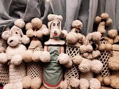 The usual poodle suspects at the Crochet Museum (MyLifesATrip) Tags: joshuatreenationalpark joshuatree art california us ustravel desert