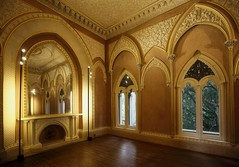 Nov 04, 2016 (pavelkhurlapov) Tags: interior light shadows castle mirror fireplace parquet windows architecture room arch ceiling wood