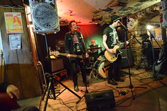DSC_0069 (richardclarkephotos) Tags: tim bish joey luca © richard clarke photos derellas three horseshoes bradford avon wiltshire uk lone sharks guitar bass drums guitarist drummer bassist band bands live music punk