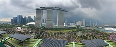 Singapore Panorama (BiggestWoo) Tags: panorama view wheel flyer building city skyline singapore