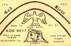 12000297 (myQSL) Tags: cb radio qsl card 1970s