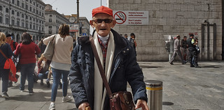 This old guy asked me why I wanted to take his picture, I told him because you have a great face and look like a really interesting person. He said that was the best thing anyone had said to him in a long time. just wanted to share that with you.