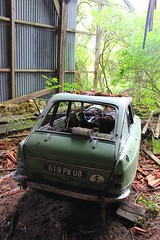 Citroen Ami 8 berline 4 - T (08) (Raphael Drake) Tags: epave voiture wreck car abandonne abandoned decay decayed rurex barn citroen ami 8 ami8