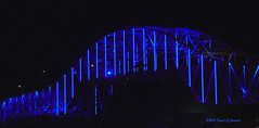 Blue Harbor Bridge (Frank G Cornish) Tags: bridge archtecture structure urban cityscape