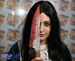 Comicdom Con Athens 2018: Prejudging - by SpirosK photography: Alice Returns (SpirosK photography) Tags: cosplay cosplaycontest costumeplay prejudging photoshoot portrait spiroskphotography alicereturns alice bloody knife comicdomconathens2018 comicdomcon2018 comicdomconathens comicdom2018