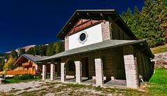 Small alpine church (Marco Trovò) Tags: marcotrovò hdr italia italy colere bergamo passopresolana mountain montagna house casa building costruzioni architecture architettura chiesa church