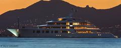 la belle vie (laurie.longeas) Tags: yacht bateau antibes cap dantibes juan les pins mer coucher de soleil sunset