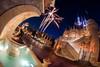 Cinderella's Magical Kingdom (TheTimeTheSpace) Tags: waltdisneyworld disneyworld disney magickingdom cinderellacastle cinderella onceuponatime night stars fireworks lasers nikond810 rokinon12mm28 fisheye