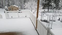 April 2 - last snow? (yumievriwan) Tags: seasons spring bethlehempa pennsylvania snow