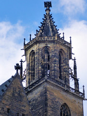 Magdeburg Dom Nordturm 2. Hälfte 15. Jhd. (Wolfsraum) Tags: magdeburg dom gotik hochgotik