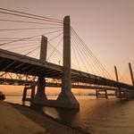 Abraham Lincoln Bridge at Dusk thumbnail