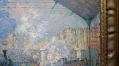 Monet, La gare Saint-Lazare (profzucker) Tags: monetgare monet impressionism paris train station shed 19thcentury painting art arthistory muséedorsay smarthistory ironwork