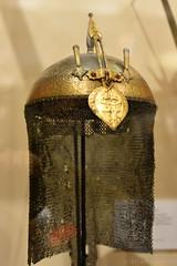 Indian Helmet (Bri_J) Tags: royalarmouries leeds westyorkshire uk museum militarymuseum yorkshire nikon d7200 indianarmour helmet armour chainmail
