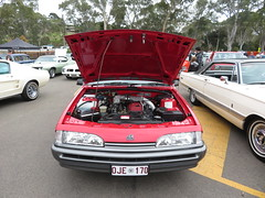 Vintage Car Display at Ridgehaven (RS 1990) Tags: vintage classic car display ridgehaven teatreegully adelaide southaustralia sunday 20th may 2018 holden vl commodore exectutive turbo wagon