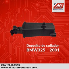 "Depposito_Radiador_BMW_325_2001 • <a style=""font-size:0.8em;"" href=""http://www.flickr.com/photos/141023675@N04/40498138054/"" target=""_blank"">View on Flickr</a>"